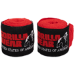 Gorilla Wear Boxing Hand Wraps (piros)