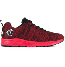 Brooklyn Knitted Sneakers - Red/Black (piros/fekete)