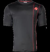 Gorilla Wear Branson T-Shirt (fekete/piros)