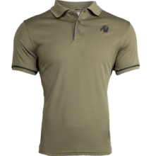 Gorilla Wear Forbes Polo (army zöld)