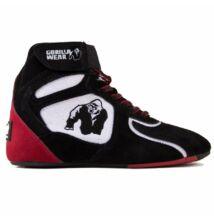 Gorilla Wear Chicago High Tops - Limited (fekete/fehér/piros)