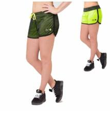 Gorilla Wear Madison Reversible Shorts (fekete/lime)