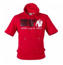 Gorilla Wear Boston Short Sleeve Hoodie (piros)