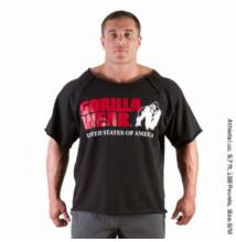 Gorilla Wear Classic Work Out Top (fekete)