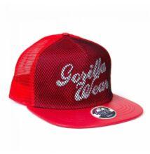 Gorilla Wear Mesh Cap (piros)