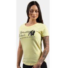 Gorilla Wear Lodi T-shirt (világos sárga)