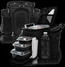 Isolator Fitness ISOBAG 3 MEAL (fekete)