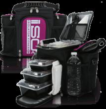 Isolator Fitness ISOBAG 3 MEAL (fekete/lila)