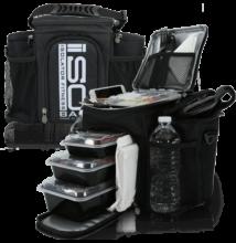 Isolator Fitness ISOBAG 3 MEAL (fekete/ezüst)