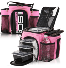 Isolator Fitness ISOBAG 3 MEAL (pink)