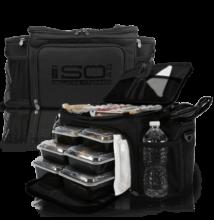 Isolator Fitness ISOBAG 6 MEAL (fekete)