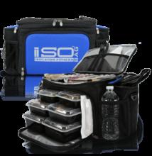 Isolator Fitness ISOBAG 6 MEAL (fekete/kék)
