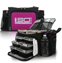 Isolator Fitness ISOBAG 6 MEAL (fekete/lila)