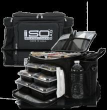 Isolator Fitness ISOBAG 6 MEAL (fekete/ezüst)