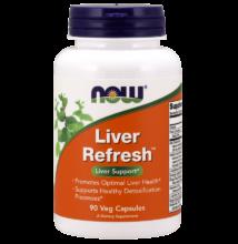 NOW Foods Liver Refresh (Liver Detoxifier & Regenerator) (90 kapszula)