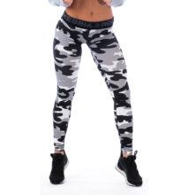 Nebbia Női Terepmintás leggings nadrág 203 (Szürke)