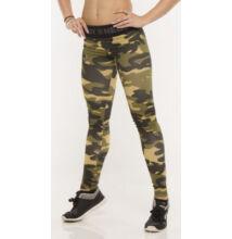 Nebbia Női Terepmintás leggings nadrág 203 (Zöld)