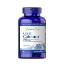 Puritan's Pride Coral Calcium 500mg (120 kapszula)
