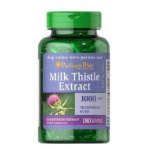 Puritan's Pride Milk Thistle Extract 1000mg (180 lágykapszula)