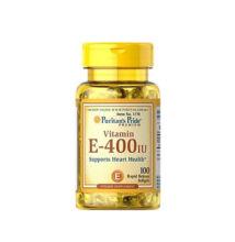 Puritan's Pride Vitamin E-400 IU (100 lágy kapszula)