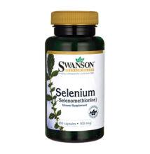 Swanson Selenium (L-szelenometionin) (200 kapszula)