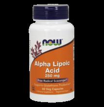 NOW Foods Alpha Lipoic Acid 250mg (60 kapszula)