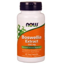 NOW Foods Boswellia Extract 250mg (60 kapszula)