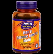 NOW Foods Men's Extreme Sports Multi (90 lágy kapszula)