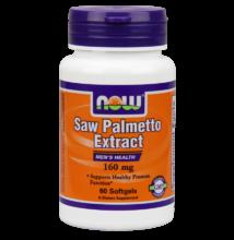 NOW Foods Saw Palmetto Extract 160mg (120 lágy kapszula)
