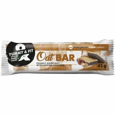 ForPro Oat Bar - Mogyorós csokoládé íz  (30 x 45g)