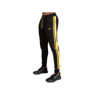 Gorilla Wear Banks Pants (fekete/sárga)