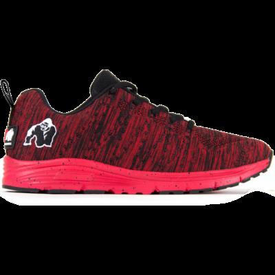 Gorilla Wear Brooklyn Knitted Sneakers - Red/Black (piros/fekete)