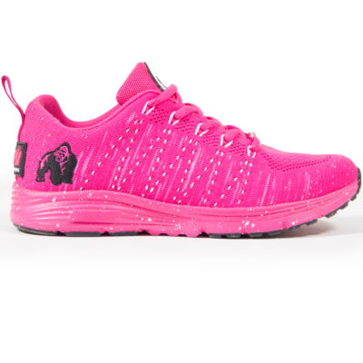Gorilla Wear Brooklyn Knitted Sneakers - Pink/White (pink/fehér)
