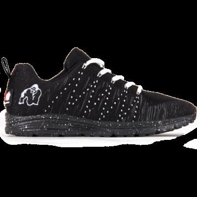 Brooklyn Knitted Sneakers - Black/White (fekete/fehér)
