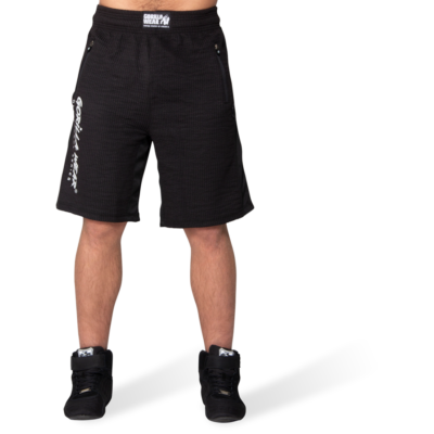 Gorilla Wear Augustine Old School Shorts (fekete)