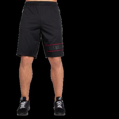 Gorilla Wear Branson Shorts (fekete/piros)
