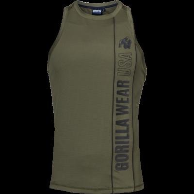 Gorilla Wear Branson Tank Top (fekete/army zöld)