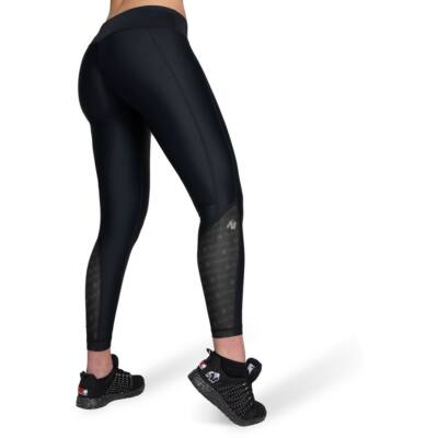 Gorilla Wear Carlin Compression Tights (fekete/fekete)