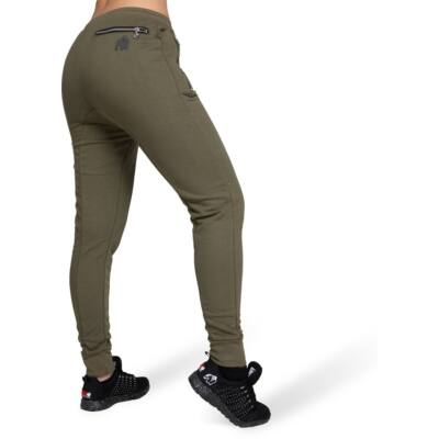 Gorilla Wear Celina Drop Crotch Joggers (army zöld)