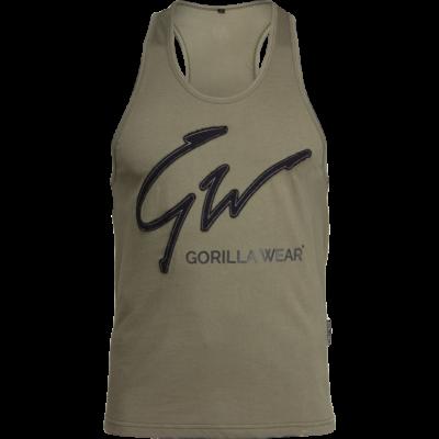 Gorilla Wear Evansville Tank Top (army zöld)