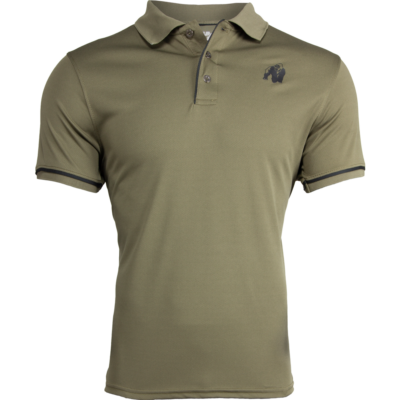 Gorilla Wear Forbes Polo (army zöld)