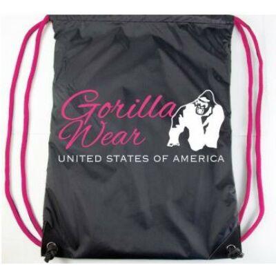 Gorilla Wear Drawstring Bag (fekete/pink)