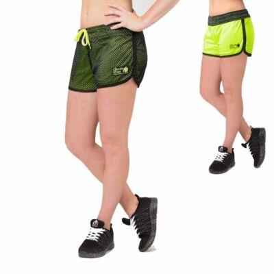 Gorilla Wear Madison kifordítható rövidnadrág (fekete/lime)