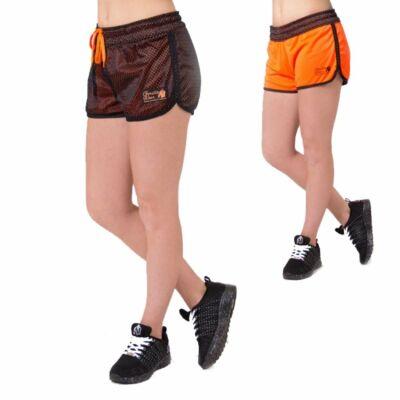 Gorilla Wear Madison kifordítható rövidnadrág (fekete/narancs)