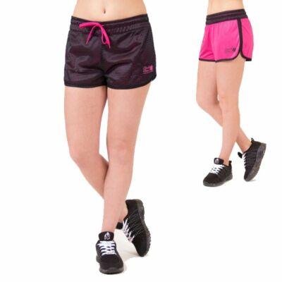 Gorilla Wear Madison kifordítható rövidnadrág (fekete/pink)