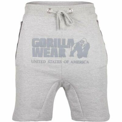 Gorilla Wear Alabama Drop Crotch Shorts (szürke)