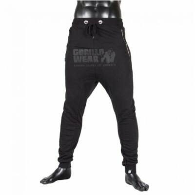 Gorilla Wear Alabama Drop Crotch Joggers (fekete)