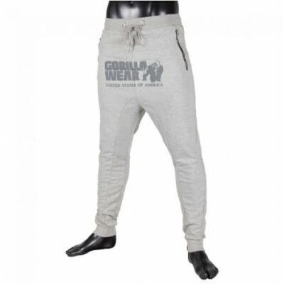 Gorilla Wear Alabama Drop Crotch Joggers (szürke)
