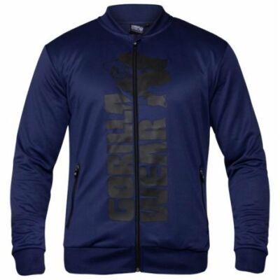 Gorilla Wear Ballinger Track Jacket (navy kék/fekete)