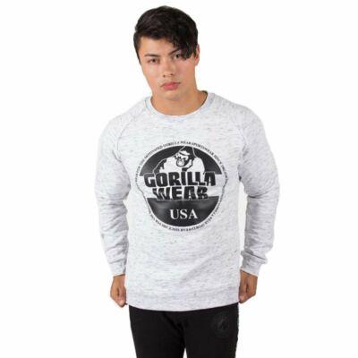 Gorilla Wear Bloomington Crewneck Sweatshirt (kevert szürke)